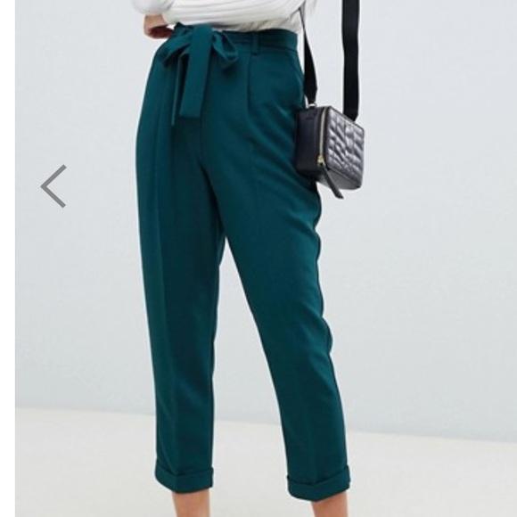 ASOS petite paperbag pants
